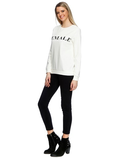 Vero Moda Sweatshirt Beyaz